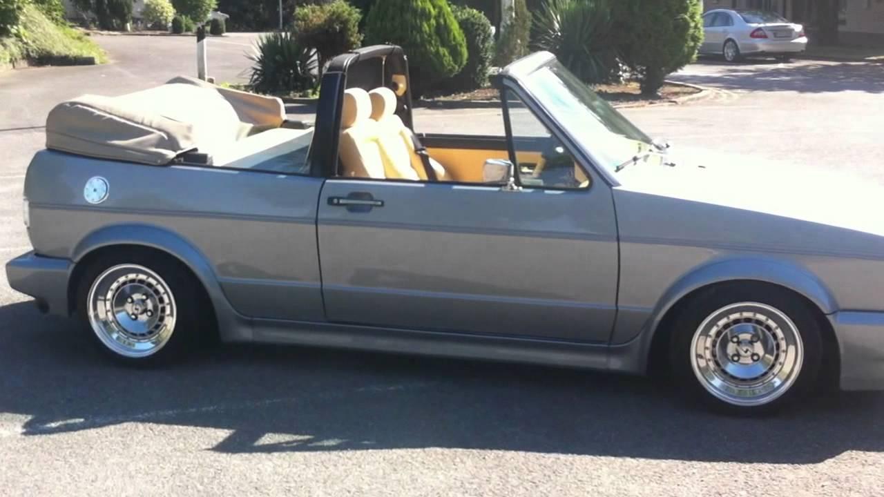 christophs golf 1 cabrio 155er youtube. Black Bedroom Furniture Sets. Home Design Ideas