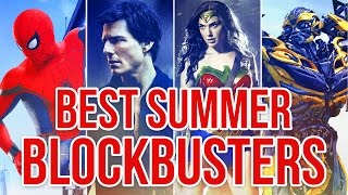 BEST SUMMER BLOCKBUSTERS of 2017 - Screen Time Live