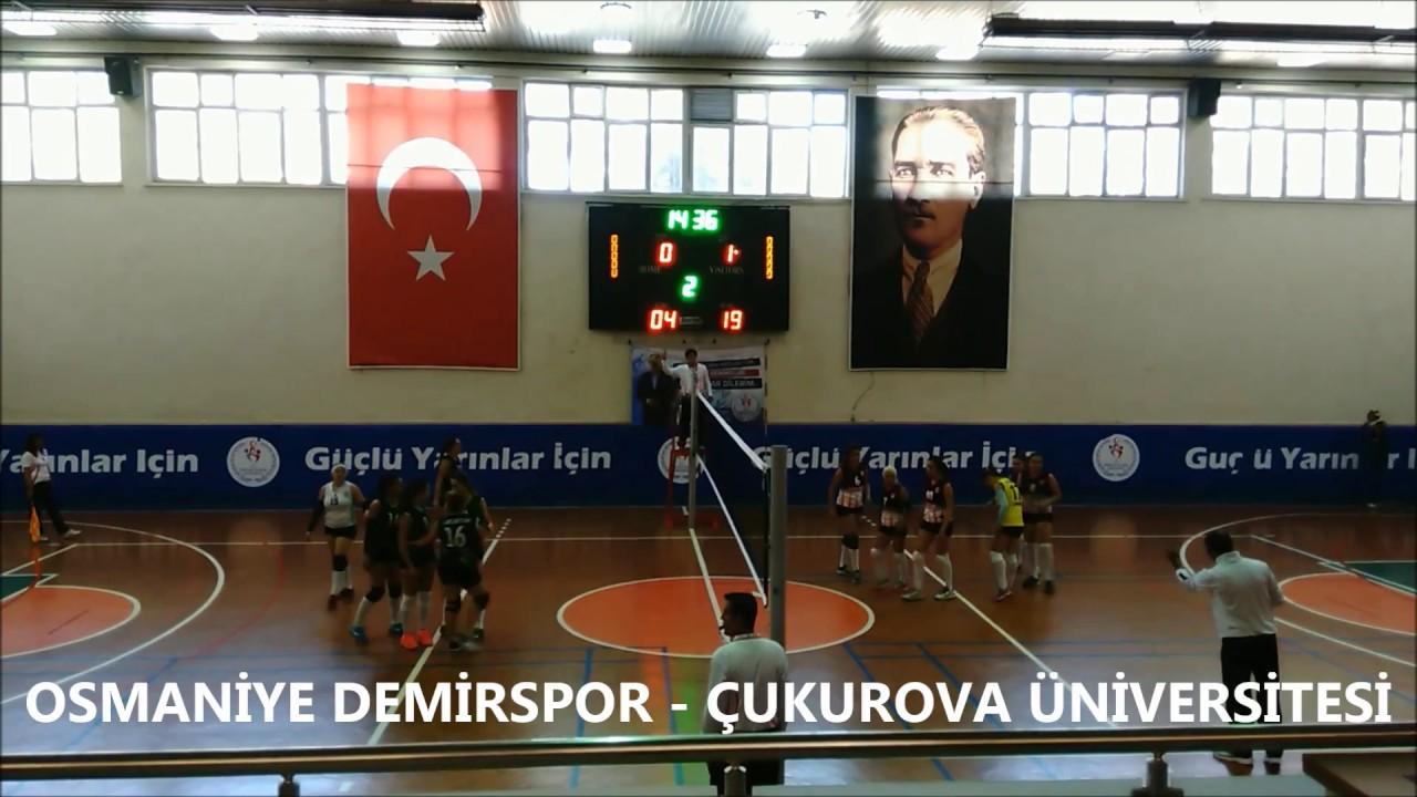 Osmaniye Demirspor - Çukurova Üniversitesi