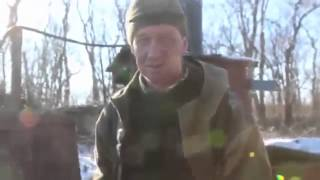 Война на Украине Дебальцево Кадры реального боя War in Ukraine