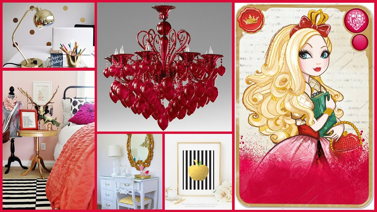 Ever After High  Bedroom Decorating Ideas  Royals and Rebels Lookbook  YouTube