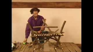 Make A Rustic Fanback Chair