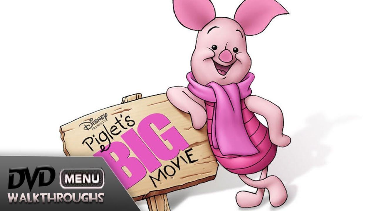 Download Piglet's BIG Movie (2003) DvD Menu Walkthrough