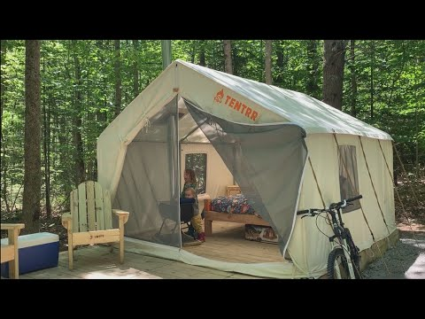 Maine State Parks >> Glamping Sites At Maine State Parks