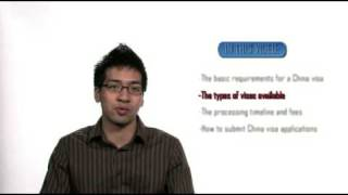 HOW TO GET A VISA FOR CHINA(http://www.immigroup.com/Visa/ChinaVisa.aspx This video explains how Canadian citizens and permanent residents can obtain a visa for China., 2009-05-24T23:34:59.000Z)