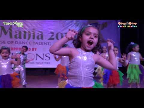 Sanu Kehndi | Paagal | Khadke Glassy | Cute Tiny Tots Dance Performance | Step2Step Dance Studio