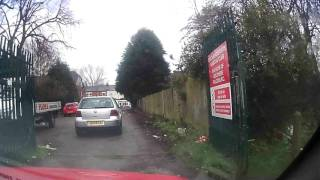 Sutton Coldfield Bad Drivers 20170121 - A13RTJ great place to park, mate