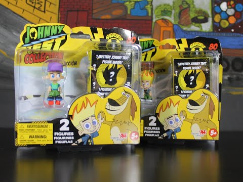 JOHNNY TEST Blind Box Unboxing