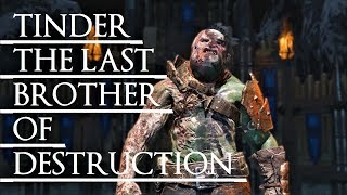 Shadow of War: Middle Earth™ Unique Orc Encounter & Quotes #172 TINDER THE LAST BROTHER OF BOOM