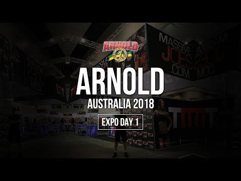 Arnold Sports Festival Australia 2018 | Expo Day 1 | Australian Supplement Awards Presentations