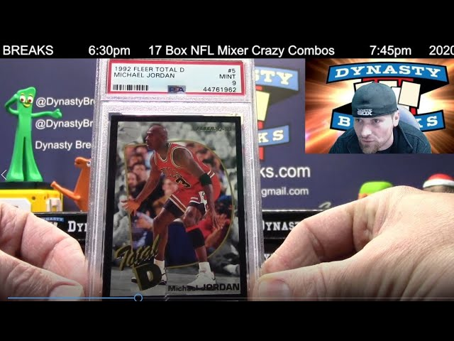 The Dynasty Vault Multi Sport Volume III 11 Box Case Break #2   Sports Cards