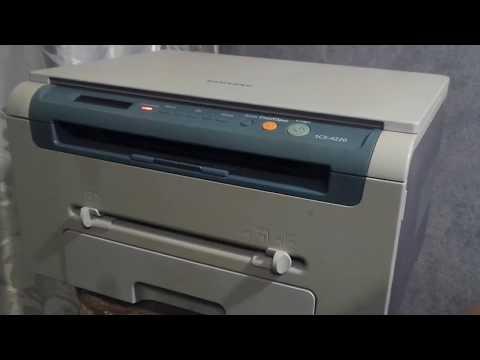 Samsung SCX-4220 работа МФУ