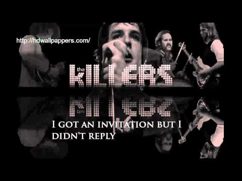 The Killers - Just Another Girl (Lyrics On Screen)