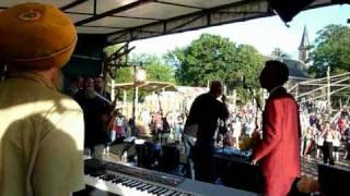 "WINSTON FRANCIS  ""Intro & Real Rock""  Future Reggae Ruigoord 2010"
