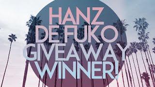 Hanz de Fuko Giveaway Winner!!! Thumbnail
