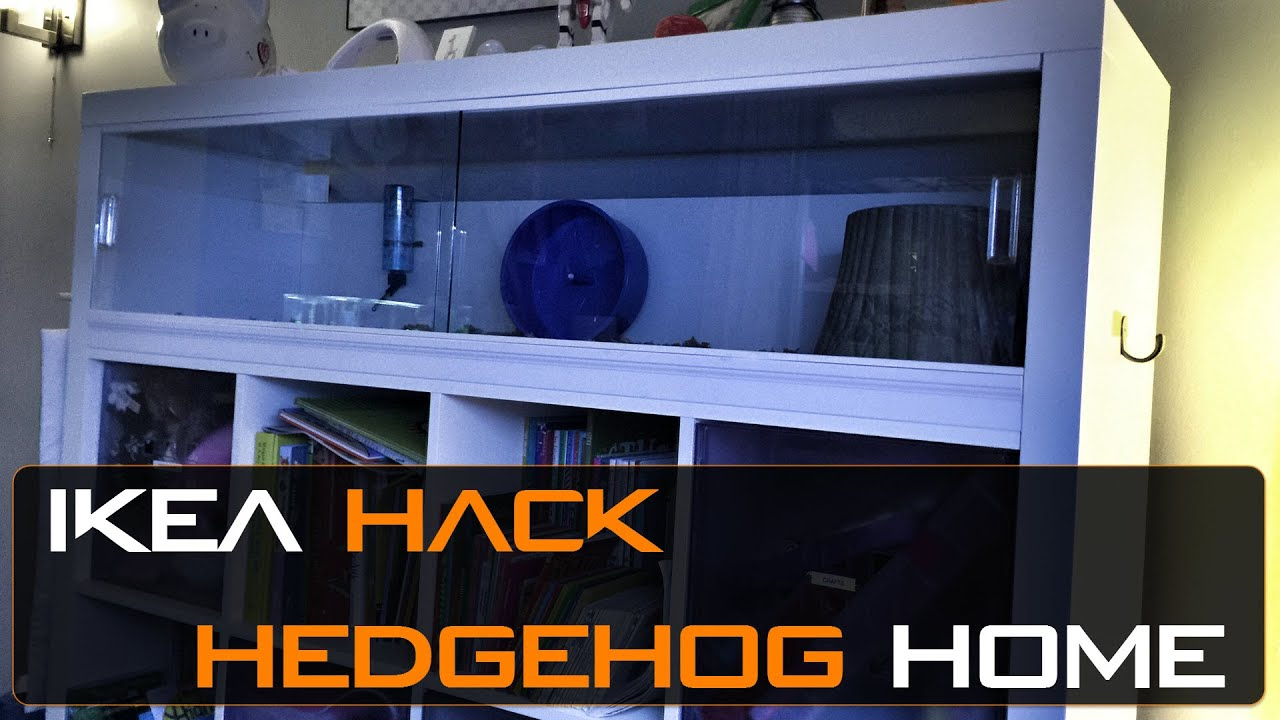 Ikea Hack Hedgehog Cage Kallax Shelving Unit Youtube
