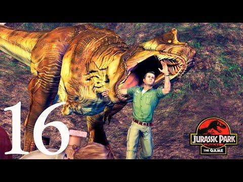 Мозазавр и Тираннозавр рекс Финал! Jurassic Park The Game прохождение
