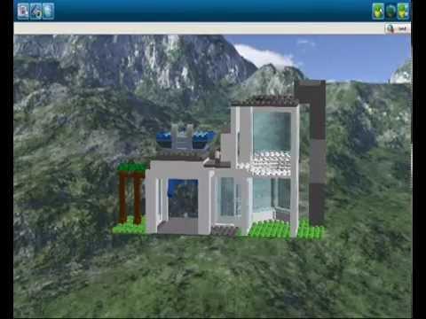 LEGO   Modern Haus