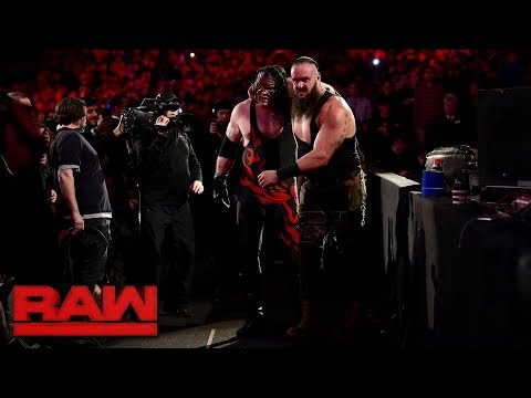 Braun Strowman vs. Kane - Last Man Standing Elimination Chamber Qualifying Match: Raw, Jan. 29, 2018