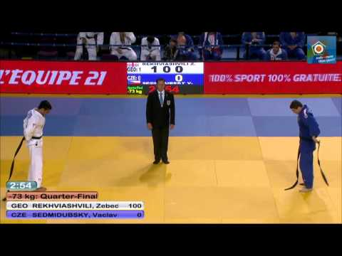Georgia vs Czech Republic -Team Quarter-Final - JUDO European Championships - 2014 Montpellier