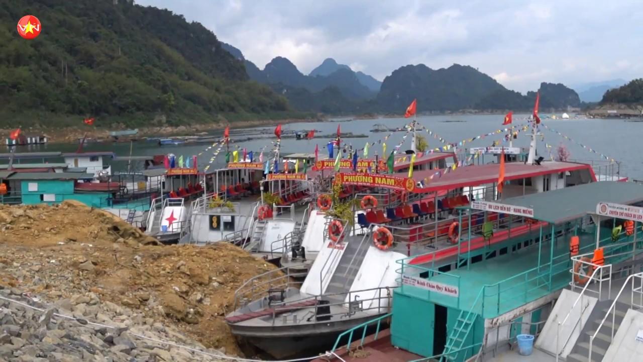 Khu du lịch hòa bình 🔴 bến thuyền sông đà hòa bình
