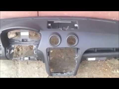 Ремонт торпеды на Ford Fusion. Ремонт подушек безопасности.