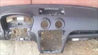 Ремонт торпеды на Ford Fusion. Ремонт подушек безопасности.(Ремонт торпеды. Выполним качественный ремонт торпеды и накладки на руль на Ford Fusion после срабатывания подуш..., 2014-07-08T17:40:31.000Z)