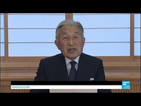 Japan: Emperor Akihito suggests abdication in a rare video address