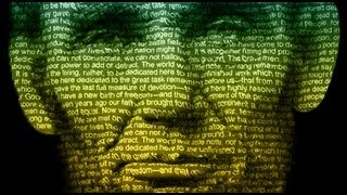 Photoshop Tutorial: How to make a Text Poster of Someone