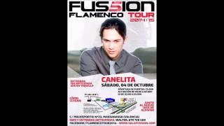 Nuevo Disco Canelita 2014 en sala Fussion, Valencia. 4 Octubre 2014