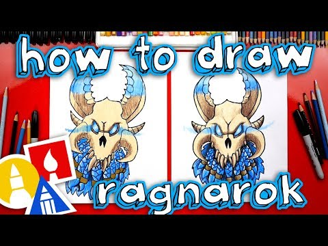How To Draw Fortnite Ragnarok Mask