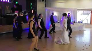 TAMADA DIMITRY / Showtime Alona Flashmob super!!!!!!Красивая русская свадьба в германии
