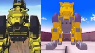 Zoids: ¿Por qué bajo la calidad de animación entre Zoids Zero y Zoids Fuzors?