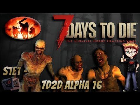 7 Days to Die - A16 MP Ep. 1 /w Bloodstalker101