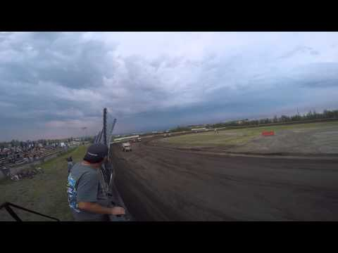 Sprint Car Feature - Mitchell Raceway - 6/20/2015