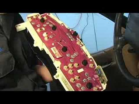 How to Replace Dashboard Lights  Removing Instrument Cluster Lights