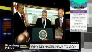 Defense Secretary Chuck Hagel Resigns