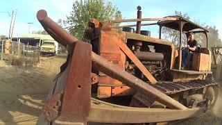 Operating Allis Chalmers Dozer With Detroit  6 71