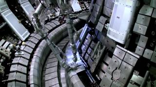 Inside JET, the world record-holding fusion reactor