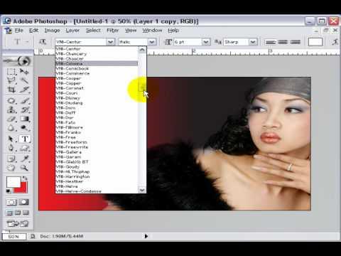 Photoshop CS2 - Phần 4 - Bài 6a - Danh thiếp