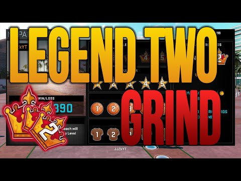 NBA 2K16 MyPark Almost Legend 2 - GRIND TIME! ( @JJ2K )