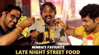 Late Night Mumbai Street Food   Melting Sandwich, Pizza Dosa & Pav Bhaji