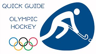 Quick Guide to Olympic Hockey