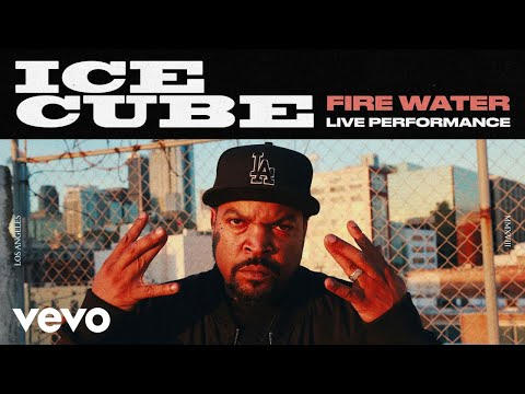 "Ice Cube - ""Fire Water"" - A Live Spoken Word Performance 