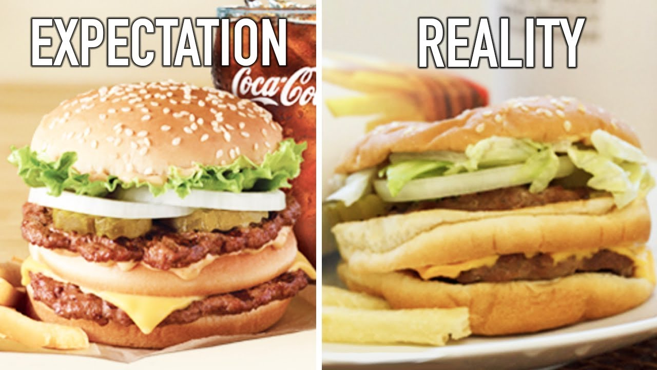 Image result for expectations vs reality