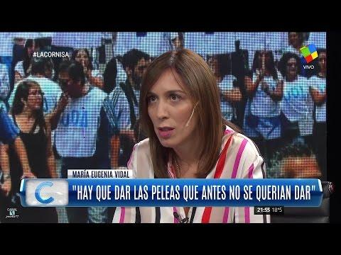 Vidal dijo que la marcha fue un llamado de atención a sectores de la oposición