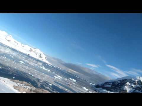 Glacier Sliding - Neko Harbor, Antarctica
