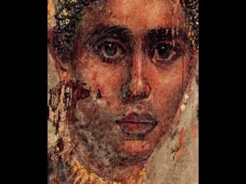 The portraits of Faiyum | Rafael Pérez Arroyo, Hymn to the Seven Hathor