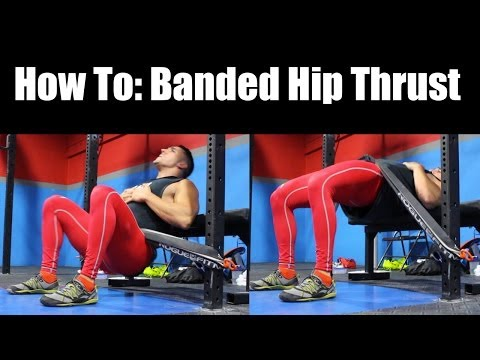 How To Banded Hip Thrusts