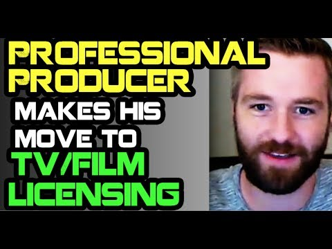 Professional Producer Makes His Move To TV/Film Licensing